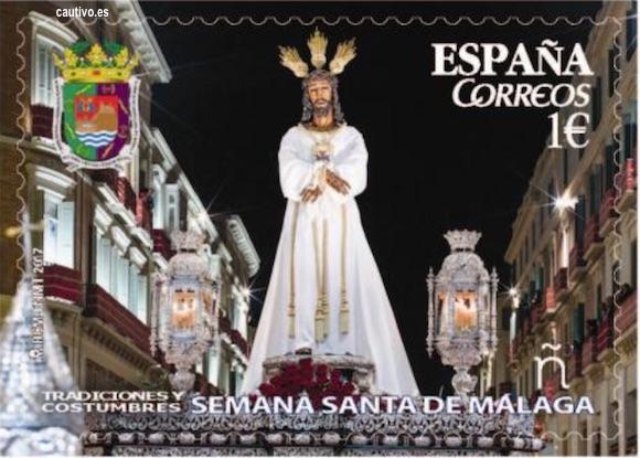 Sello del Cautivo de Málaga