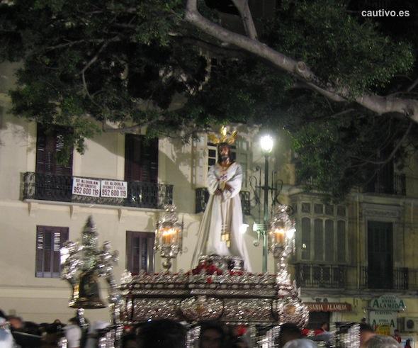 Nuestro Padre Jesús Cautivo en la Alameda de Málaga