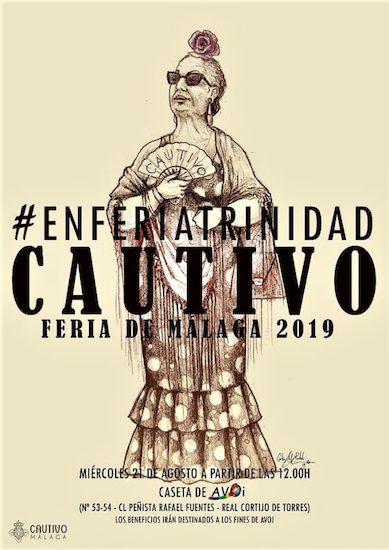 Caseta de Cautivo y Trinidad en la Feria de Málaga